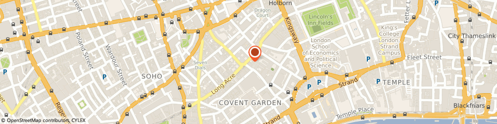 Route/map/directions to Pret A Manger Food, WC2E 9JD London, 65 Long Acre