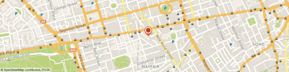 Route/map/directions to Fur Storage, W1K 5RY London, 47 South Molton St