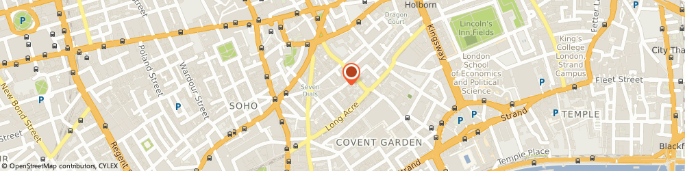 Route/map/directions to Bsm Consulting, WC2H 9BP London, 71-75 Shelton Street