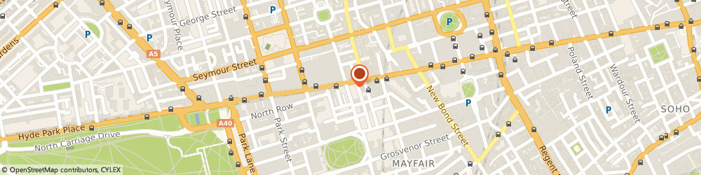 Route/map/directions to Prestige Chauffeur Drive, W1K 5NR London, 57, Duke Street