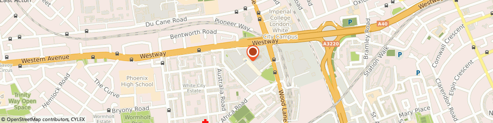 Route/map/directions to Crussh, W12 7TU London, White City Place