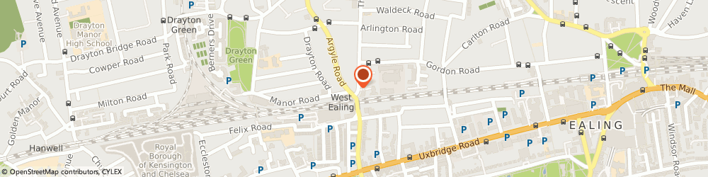 Route/map/directions to Terrys Pharmacy, W13 8JP London, 4 Castle Hill Parade