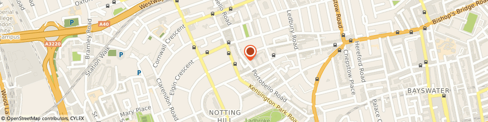 Route/map/directions to Blue Door The Gift Accessory, W11 2DY London, 131 Portobello Road