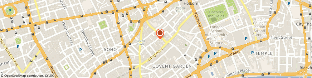 Route/map/directions to Pret A Manger Food, WC2H 9HN London, 37 Shelton Street