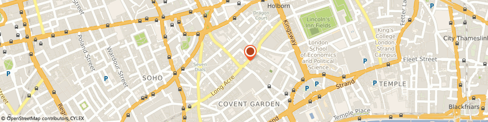 Route/map/directions to Topwedding, WC2E 9RA London, 90 Long Acre