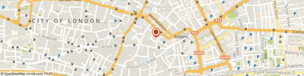 Route/map/directions to Lead Yacht Underwriters, EC3A 5AR London, 33 Bury St