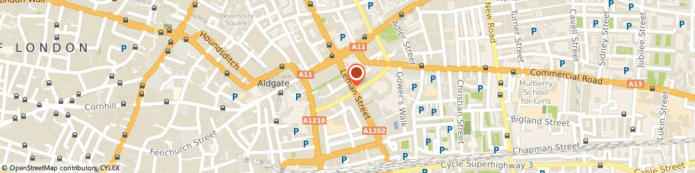 Route/map/directions to The Care Business Academy Ltd, E1 8EW London, 28 Leman St