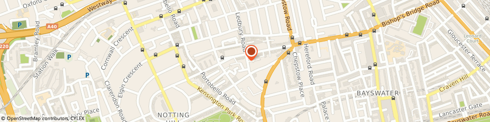 Route/map/directions to Joseph's, W11 2AA London, 61 Ledbury Rd