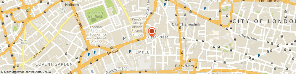 Route/map/directions to Survive Ltd, EC4A 2AB London, 107-111 FLEET STREET