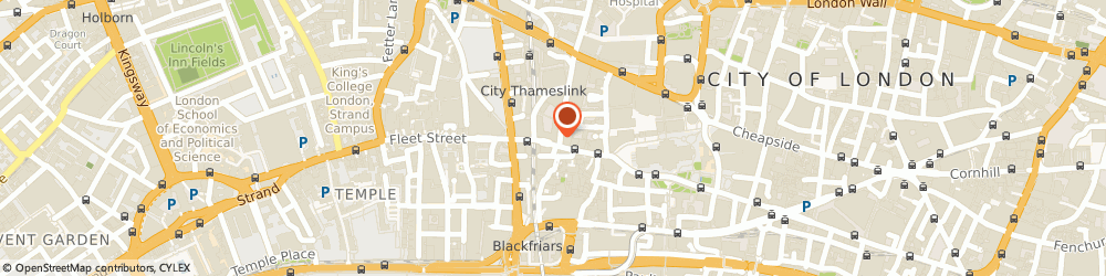 Route/map/directions to Charles Tyrwhitt, EC4M 7AW London, 54 Ludgate Hill