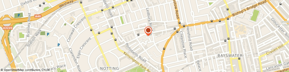 Route/map/directions to Max Studio Ltd London, W11 2SE London, 227A Westbourne Grove