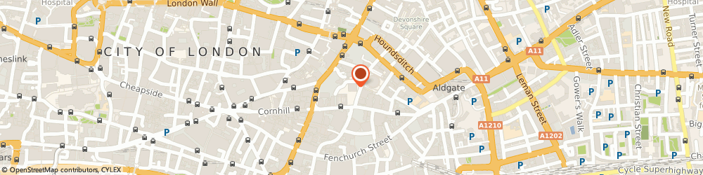 Route/map/directions to Aviva PLC, EC3A 8EE London, 1 Undershaft