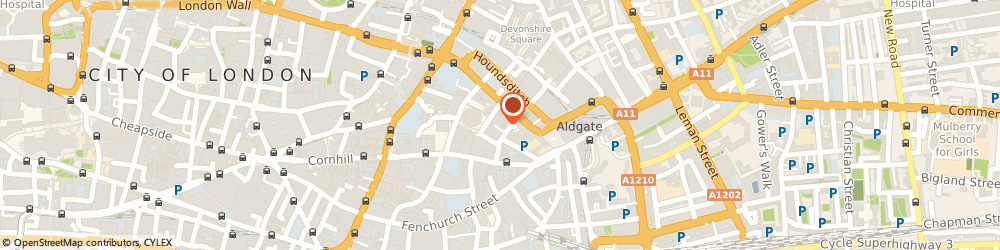 Route/map/directions to Lucy Raymond & Sons Ltd, EC3A 5DQ London, 4-10 Heneage Ln