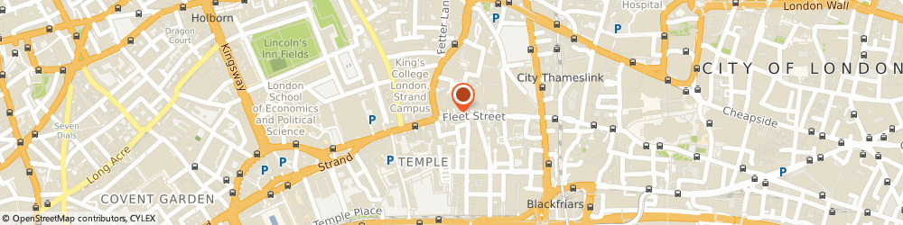 Route/map/directions to Edward Libbey Consultants Limited, EC4A 2EA London, 3RD FLOOR, 167 FLEET STREET