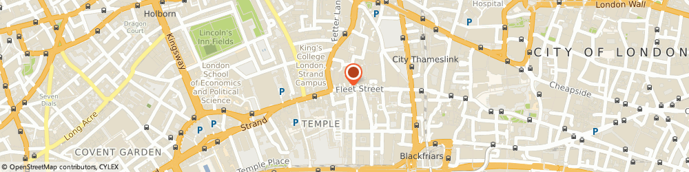 Route/map/directions to HSBC Bank, EC4A 2DY London, 165 Fleet Street