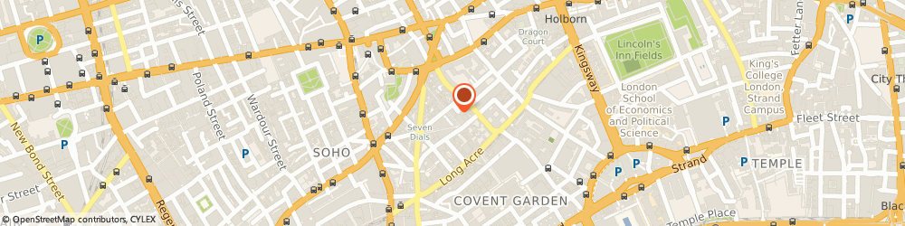 Route/map/directions to SABON UK LIMITED, WC2H 9PS London, 38 Neal St