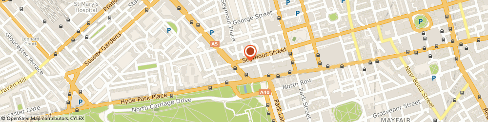 Route/map/directions to Crussh, W1H 7EF London, Unit 4, York House Bryanston Street