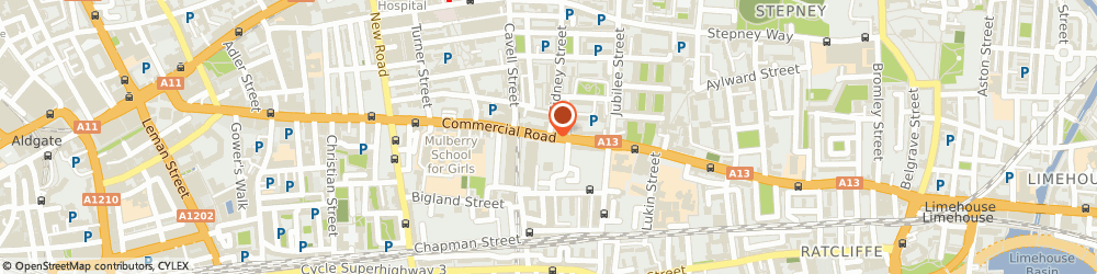 Route/map/directions to Safamodes, E1 2BT London, 219-221 Commercial Road