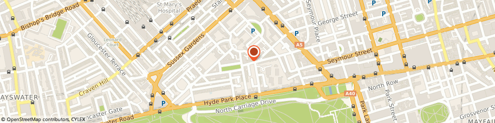 Route/map/directions to Trevi Interiors Ltd, W2 2AA London, 46 Connaught St