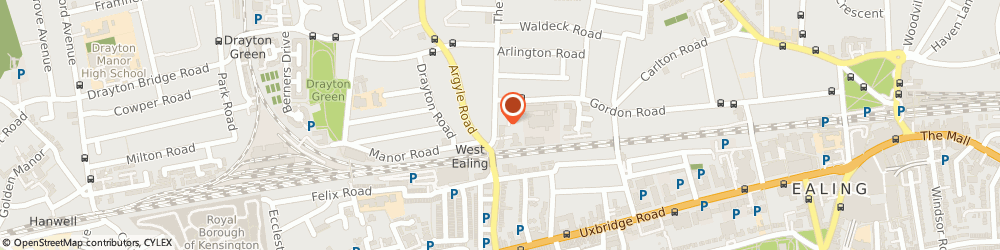 Route/map/directions to Blake's Florist, W13 8PH London, 4 The Avenue