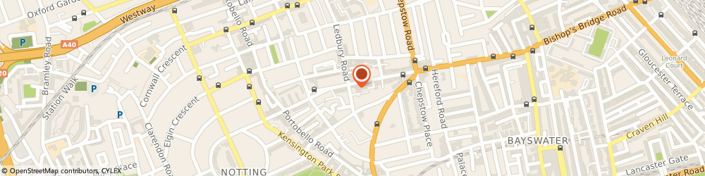 Route/map/directions to Wolf & Badger -London, W11 2AB London, 46 Ledbury Rd