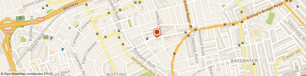Route/map/directions to Brissi London, W11 2RH London, 196 Westbourne Grove