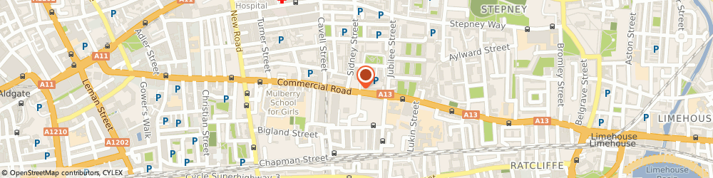 Route/map/directions to Jenda Ltd, E1 2PS London, 319, COMMERCIAL ROAD