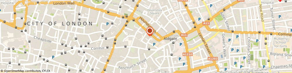 Route/map/directions to Inserve Ltd, EC3A 5AT London, 11-12 Bury St