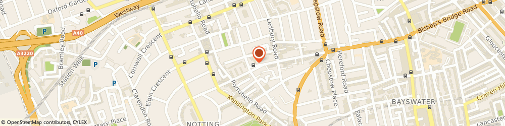 Route/map/directions to 7 For All Mankind, W11 2RH London, 228 Westbourne Grove