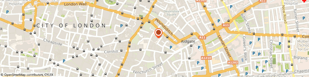 Route/map/directions to Usaa Limited, EC3A 8AE London, 4TH FLOOR FITZWILLIAM HOUSE, 10 ST MARY AXE