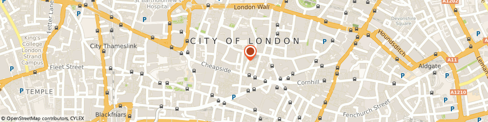 Route/map/directions to Real Asset Management, EC2V 8EA London, 9 King Street