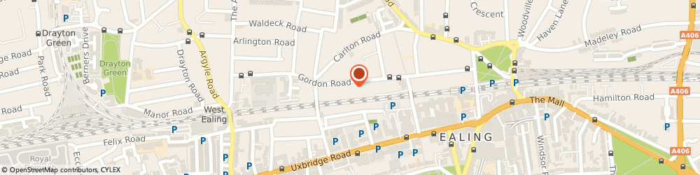 Route/map/directions to Technology Finance Limited, W5 2AL London, 67A GORDON ROAD
