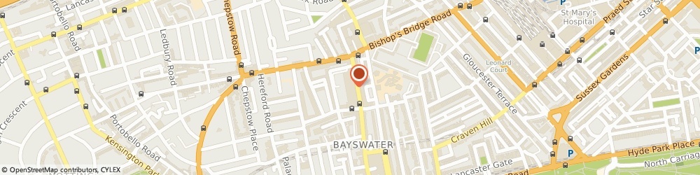 Route/map/directions to COSTA COFFEE, W2 4YQ London, Whiteleys Shopping Centre