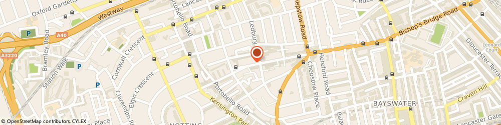 Route/map/directions to Maje, W11 2RH London, 194 Westbourne Grove