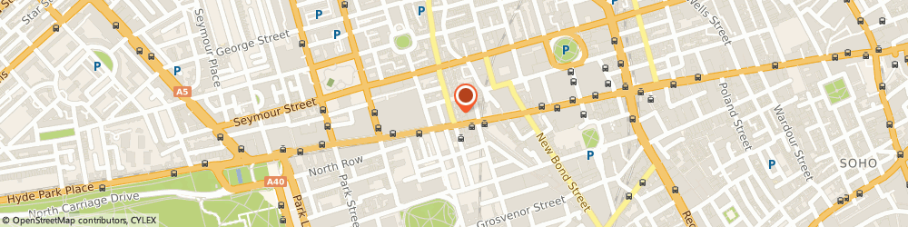 Route/map/directions to Phase Eight - Phase Eight James Street, W1U 1EE London, 10-12 James Street