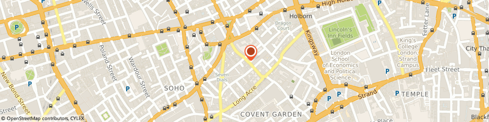 Route/map/directions to Team Photographic, WC2H 9BA London, 37, ENDELL STREET