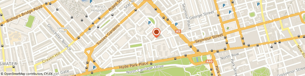 Route/map/directions to Connaught Interiors Limited, W2 2AW London, 28 Kendal St