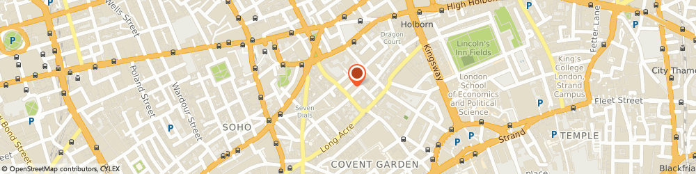 Route/map/directions to REGENT gifts, WC2H 9BQ London, 31, Betterton Street