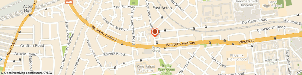 Route/map/directions to Post Office Limited, W3 7DH London, 71 Old Oak Common Lane