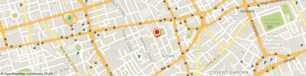 Route/map/directions to Tequila, W1D 3HA London, 82 DEAN STREET