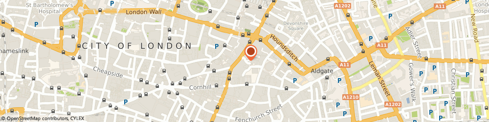 Route/map/directions to Hiscox Plc, EC3A 6HX London, 1 Great St Helen's