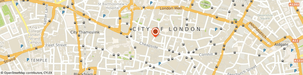 Route/map/directions to Ted Baker - LONDON, EC2V 7JB London, 120 Cheapside