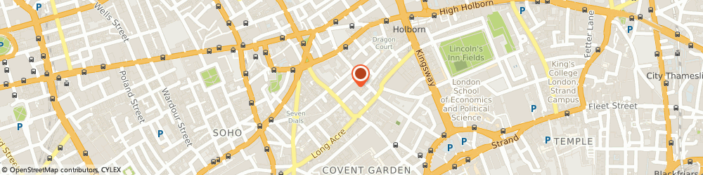 Route/map/directions to All Sound, WC2H 9JQ London, 71-75 Shelton Street