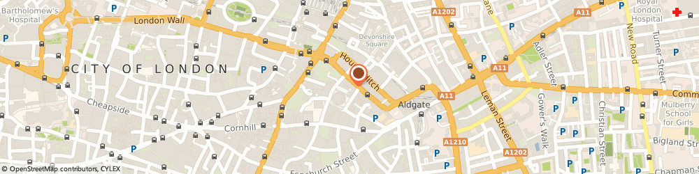 Route/map/directions to Crussh, EC3A 7BA London, 6 Bevis Marks