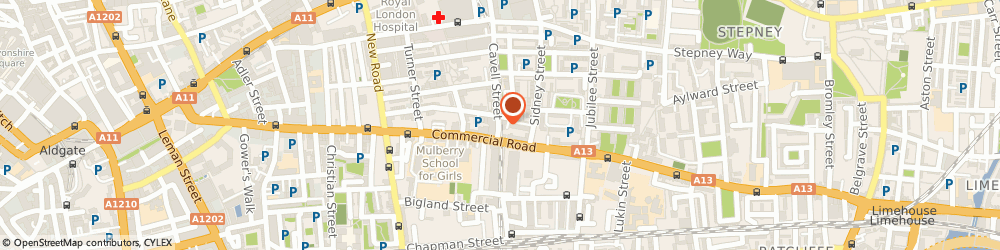 Route/map/directions to Abru Classic, E1 2HP London, 10 Cavell St