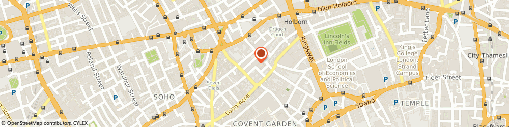 Route/map/directions to 1st Formations, WC2H 9JQ London, 71-75 Shelton Street