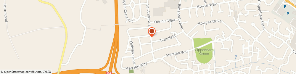Route/map/directions to Mystic Beauty Men & Women Salon and Training Centre, SL1 5LG Slough, 7 Harrison Way