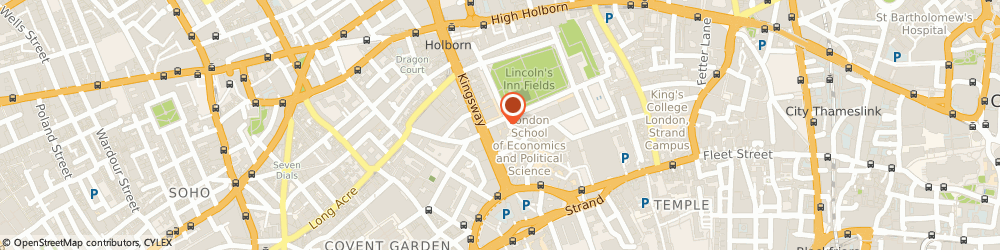 Route/map/directions to Advent Global, WC2A 3LZ London, SARDINIA HOUSE, 52 LINCOLN'S INN FIELDS