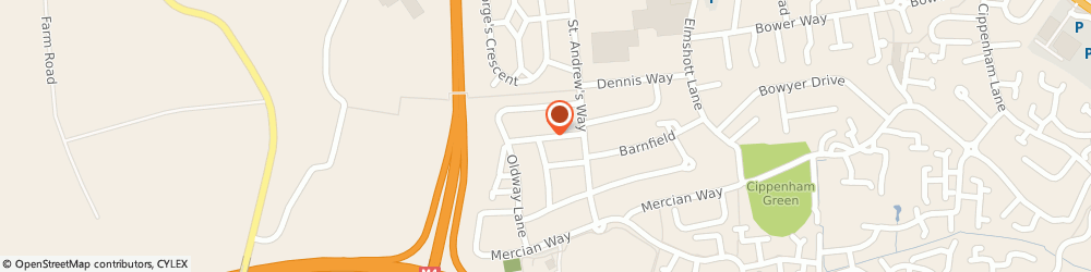 Route/map/directions to Castle Meats, SL1 5LG Slough, 11 Harrison Way
