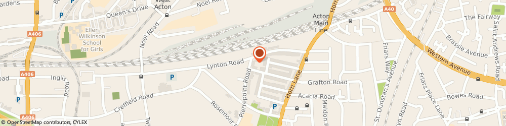Route/map/directions to Chauffeur-One, W3 9JL London, Oaktree Court, 25 Pierrepoint Rd